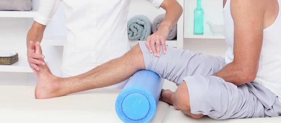rehabilitación de rodilla